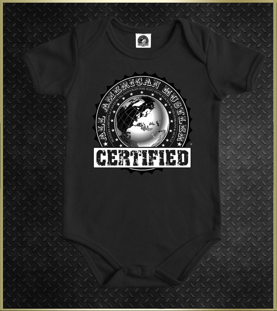 """Official Certified"" Baby Onesie"