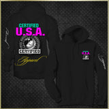 """Certified USA Apparel"" Woman's Hoodie"