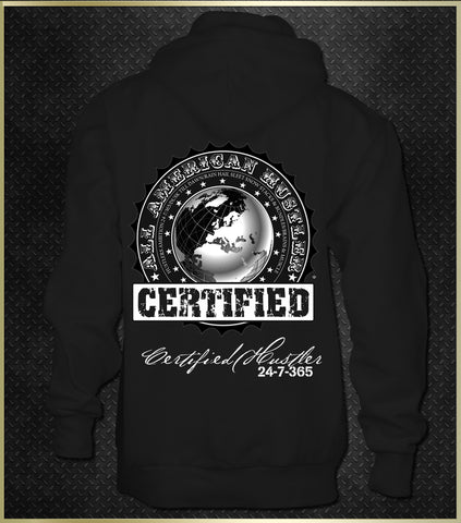 """Official Certified"" Men's Hoodie"