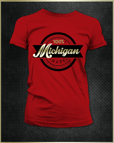 """Michigan"" Women's T-Shirt"