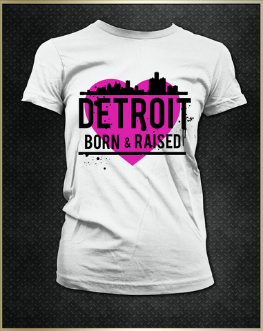 """Detroit Heart"" Women's T-Shirt"