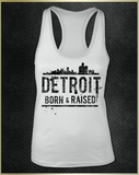 """Detroit Heart"" Women's Razorback Tank Top"