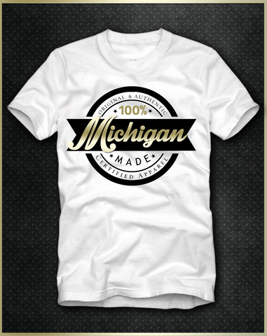 """Michigan"" Men's T-Shirt"