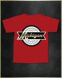 """Michigan"" Kids T-Shirt"