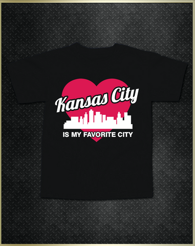 """Kansas City Heart"" Kids T-Shirt"