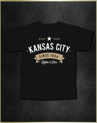 """Kansas City Rhythm"" Kids T-Shirt"