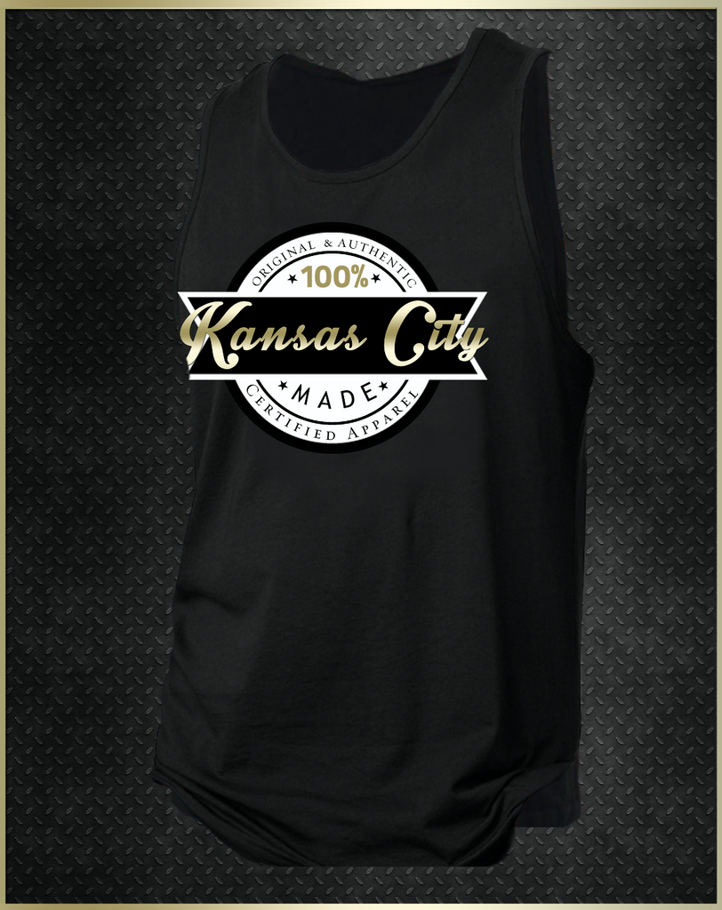 """Kansas City Logo"" Men's Tank Top"