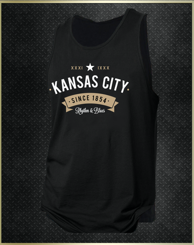 """Kansas City Rhythm"" Men's Tank Top"