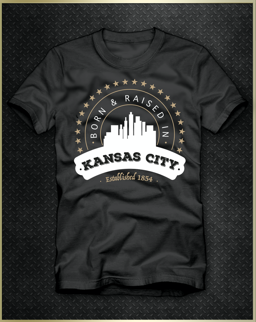"""Kansas City Born"" Men's T-Shirt"