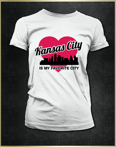 """Kansas City Heart"" Women's T-Shirt"