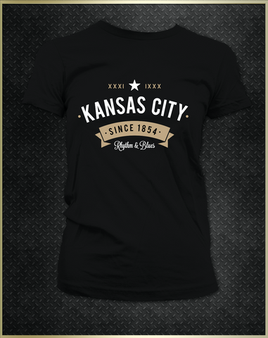 """Kansas City Rhythm"" Women's T-Shirt"