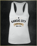 """Kansas City Rhythm"" Women's Razorback Tank Top"