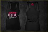 """Certified USA Apparel"" Women's Razorback Tank Top"