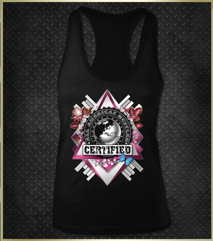 """Luxury"" Women's Razorback Tank Top"
