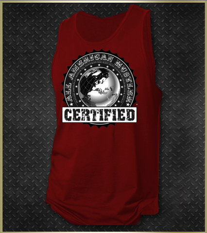 """Official Certified"" Men's Tank Top"