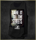 """Take It To The Streets"" Men's Tank Top"