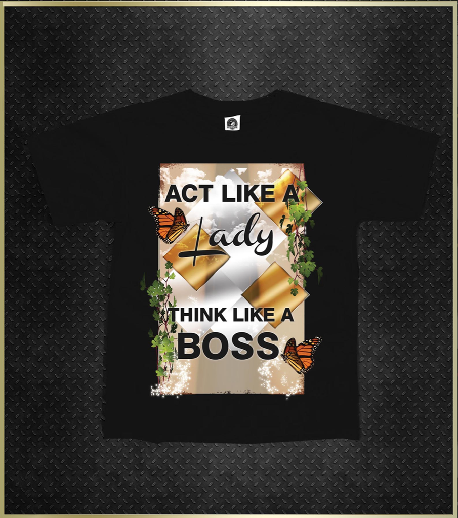 """Act Like A Lady"" Girls Kids T-Shirt"
