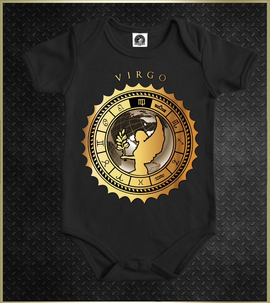 """Virgo"" Babies Astrology Onesie"