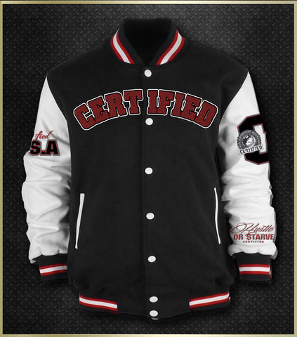 """Official Certified"" Men's Varsity Jacket"