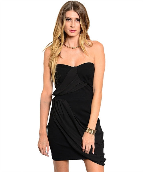 Midnight Distinction Black Dress