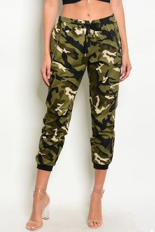 Camoufllage Print Joggers