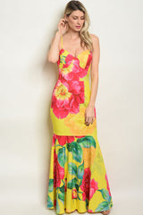 Tabatha Yellow Dress