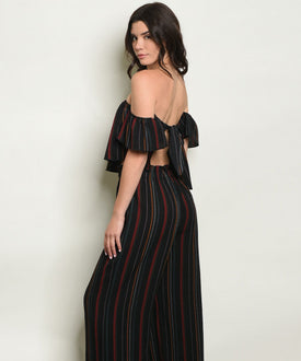 Sasha Two- Piece Striped Set