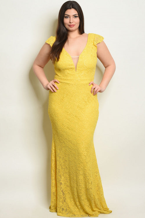 Miranda Yellow Dress