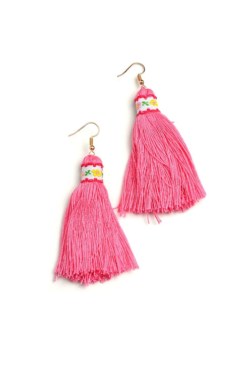Tassel Thread Earrings