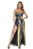Lindsey Jumpsuit Striped Sequins
