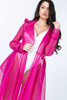 Megan Hot Pink Mesh Blazer/Coat