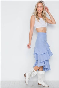Logan Skirt Blue