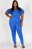 Tiffany Blue Jumpsuit Curvy7