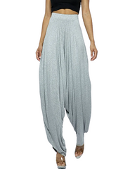Heather Gray Harem Pants