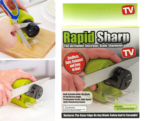 Rapid Sharp Electronic Blade Sharpener