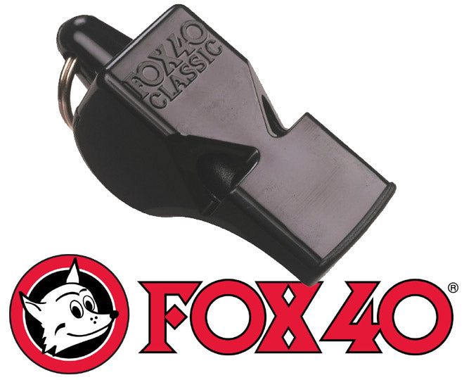 Fox 40 Classic Pea-less Whistle - Black