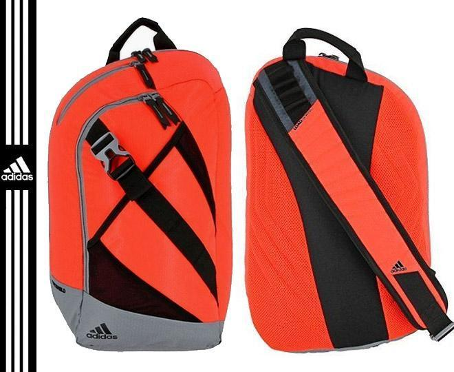 263405efe9e Adidas Citywide Sling Backpack - Solar Red Grey – whilestockslast.co.nz