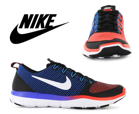 Nike Mens Free Train Versatility Training Shoes - Black/Crimson (Click to select size)