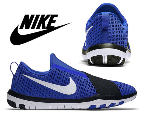 Nike Womens Free Connect Training Shoes - Racer Blue/White/Black (Click to select size)