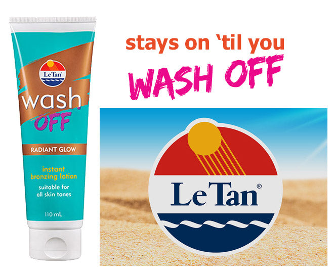 Le Tan Wash Off Instant Bronzing Lotion 110ml - Radiant Glow