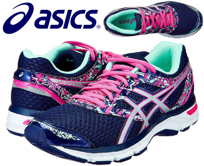 22a96c9f34 Asics Womens Gel-Excite 4 Running Shoes - Blueprint Silver Mint (Click