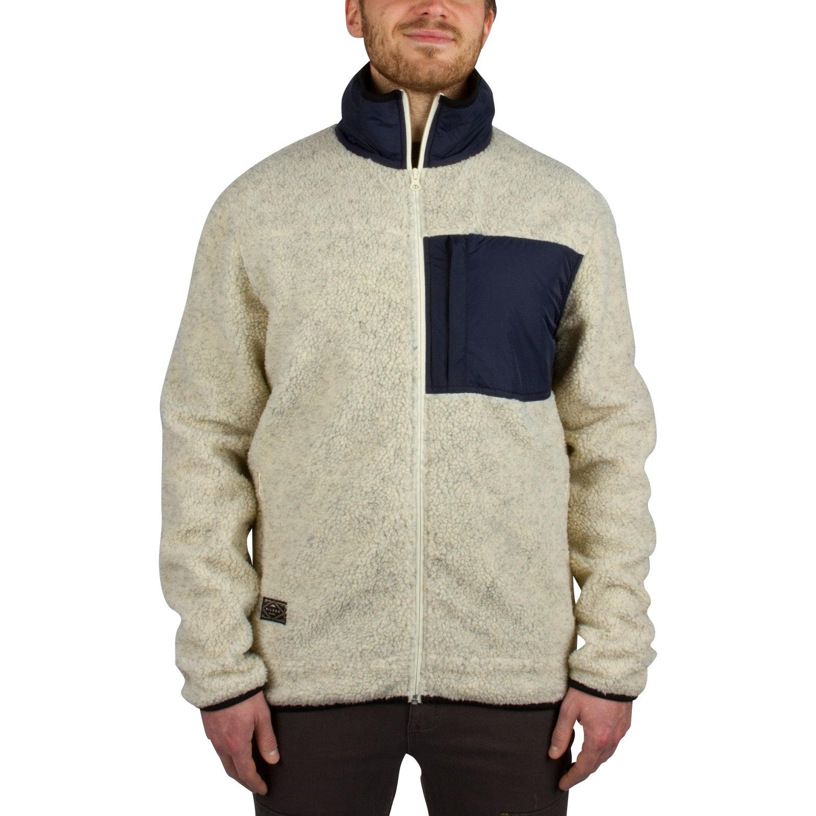 Steamboat Sherpa Fleece Jacket - Cream - Wilder &amp Sons