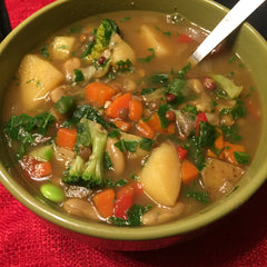 Dreena Burton Beans and Greens Soup