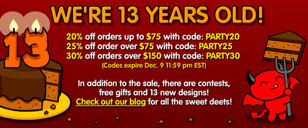 Sick On Sin 13 Birthday Sale