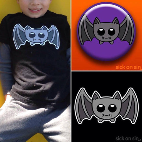Happy Bat design by Sick On Sin