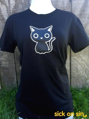 Black Cat - Men / Women Tee
