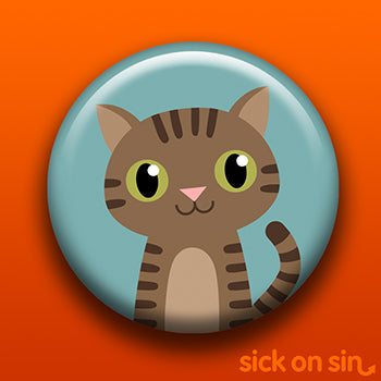 Brown Tabby Cat - 9 Lives Club - Accessory