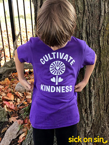 Cultivate Kindness - Kid Tee
