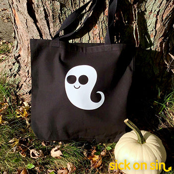 Ghost - Tote Bag (Extra Large)
