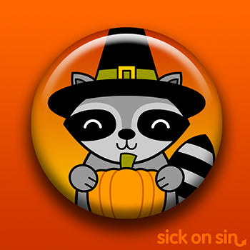 ** AVAILABLE THIS MONTH ONLY ** Halloween Party Animal: Raccoon - Accessory